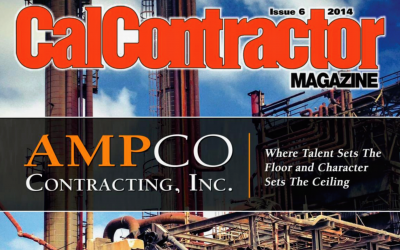 CalContractor Magazine Cover Story